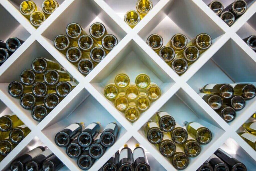 Wines Wooden Shelve